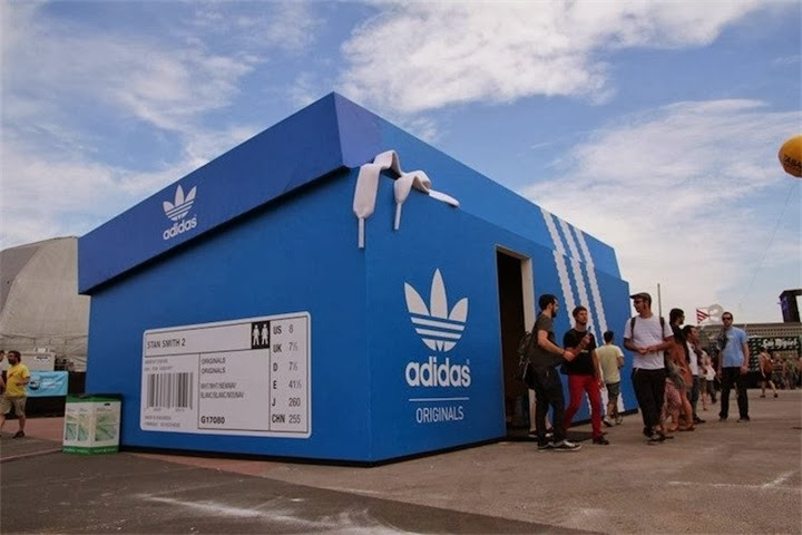 Adidas Store in Amsterdam
