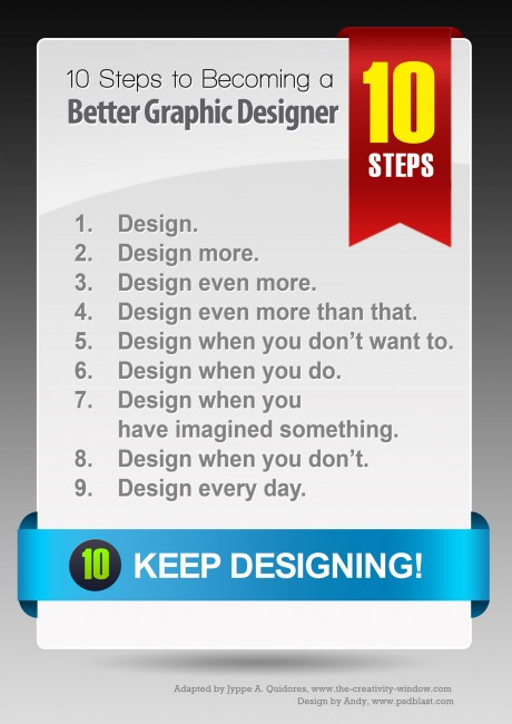 how to be the best graphic designer