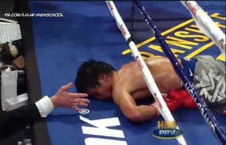 Manny Pacquiao Planking
